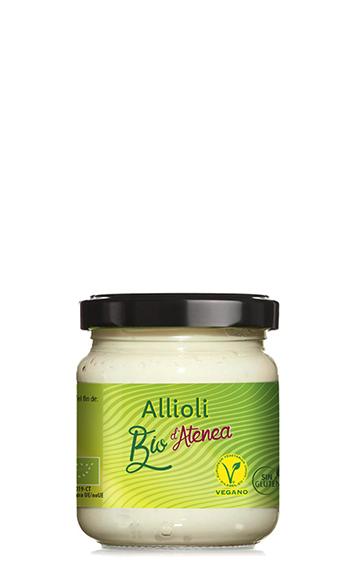 Salsa Allioli o Alioli ecológica Bio d'Atenea
