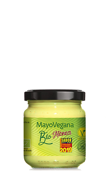 Mayonesa vegana ecológica MayoVegana con aceite de girasol