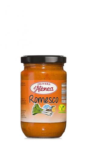 Romesco con aceite de girasol Olivera d'Atenea vegano