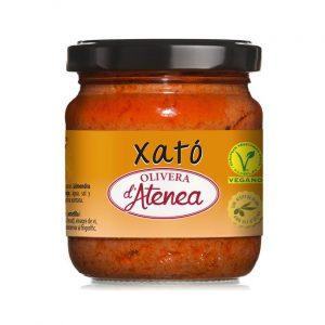 Salsa Xató Olivera d'Atenea con aceite de oliva y vegana
