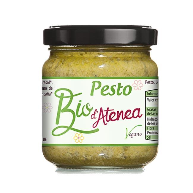 Salsa Pesto Bio d'Atenea, vegana y ecológica