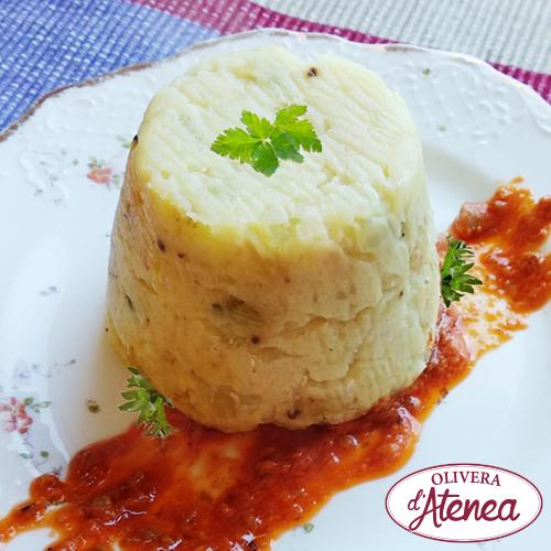 Coulant de calçots con deliciosa salsa Romesco Olivera d'Atenea
