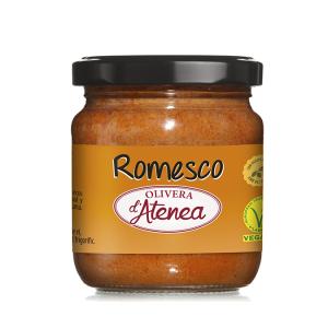 Salsa Romesco con aceite de oliva Olivera d'Atenea