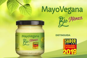 La salsa MayoVegana Bio d'Atenea ha sido distinguida como producto Sabor del Año 2019