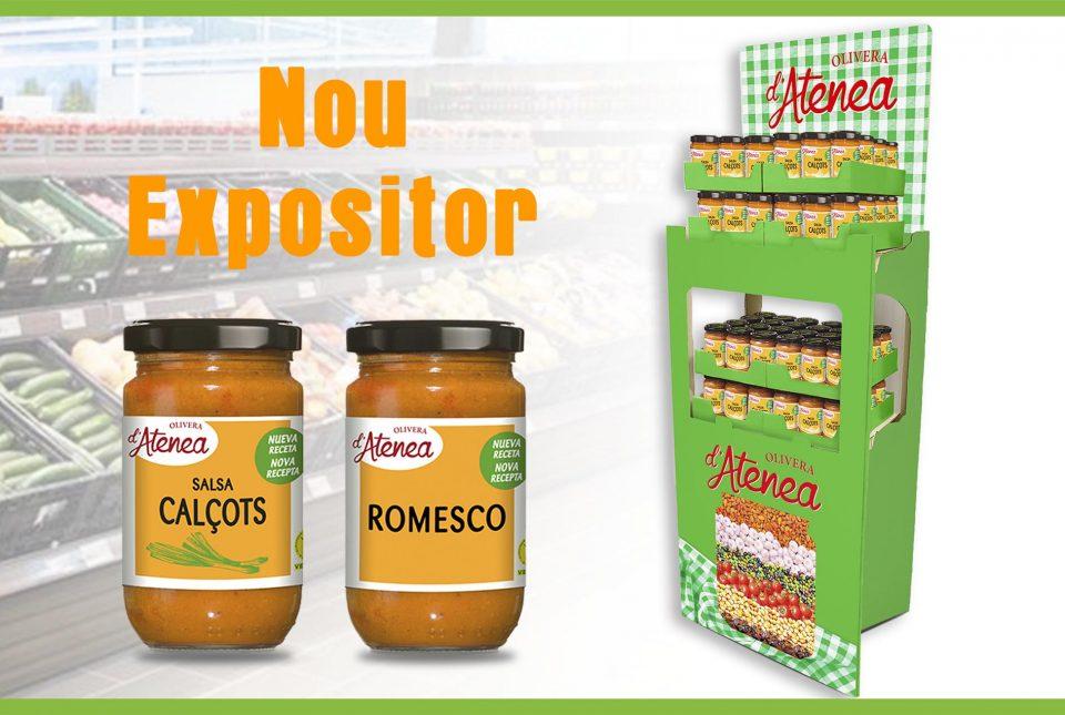 Expositor Salsa Calçots Olivera d'Atenea