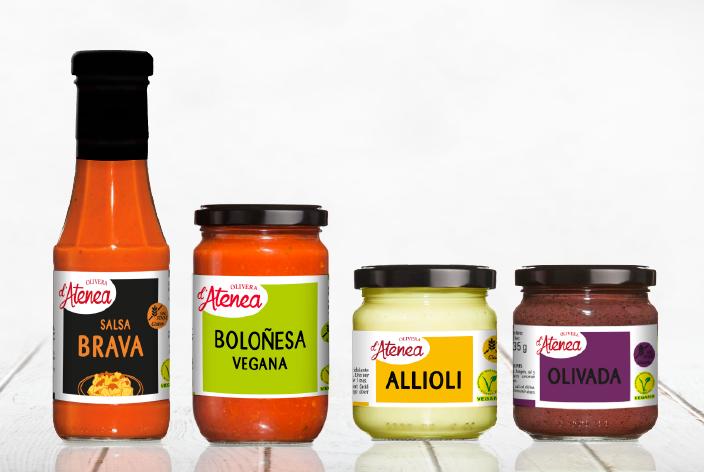 Salsas Olivera d'Atenea: Salsa Calçots, Salsa Romesco, Salsa Brava