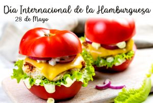 Hamburguesa sin gluten para celebrar el Día Mundial de la Hamburguesa